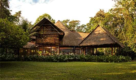 Entrance Inkaterra Reserva Amazonica