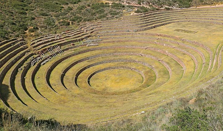 Moray Ruins, Sacred Valley, Moray, Peru