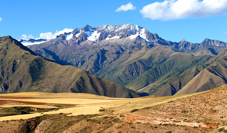 Mountains in the Sacred Valley, Peru