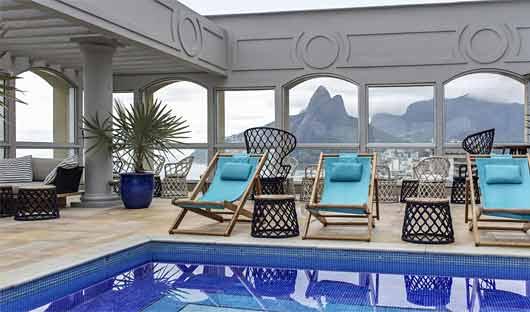 Sofitel Rio De Janeiro Pool