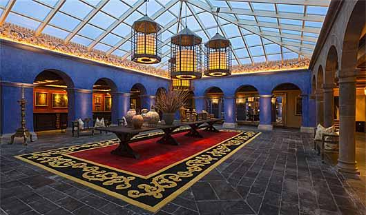 Reception Palacio del Inka, Cusco