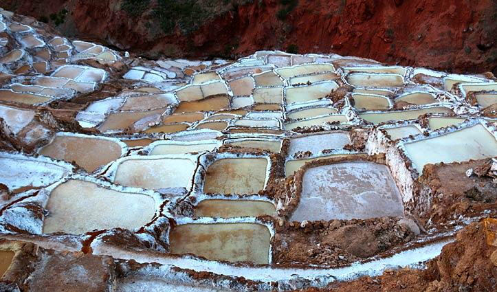 Salt ponds, Maras Peru