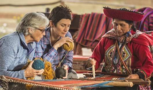 Weaving, explora Sacred Valley, Peru