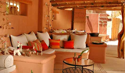 Lounge Awasi Atacama, Chile