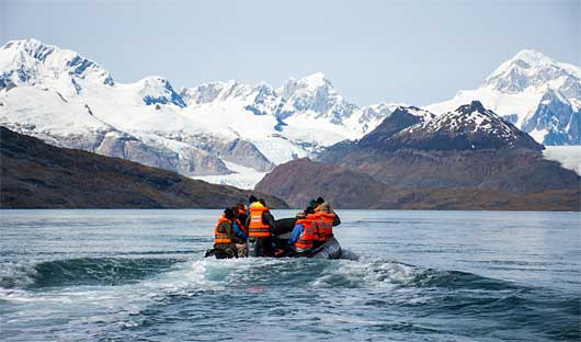 Ainsworth Bay Patagonia Cruise