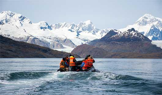 Ainsworth Bay Patagonia Cruise