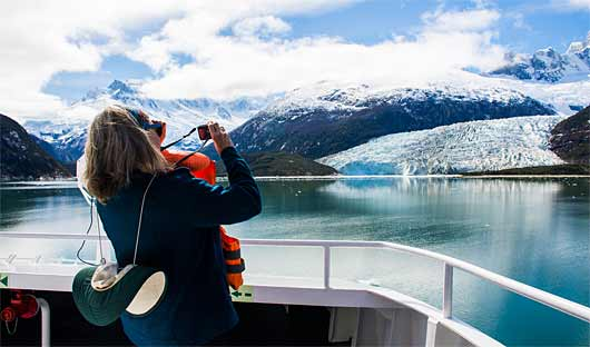 Australis Glacier excursion, Patagonia Cruise