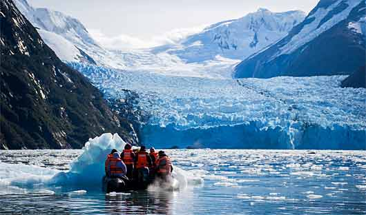 Garibaldi Glacier, Chile, Patagonia Cruise