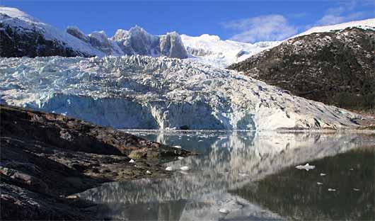 Pia Glacier, Patagonia Cruise