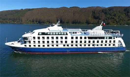 Ventus Australis Patagonia Cruise Ship