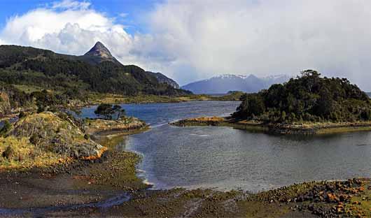 Wulaia Bay, Patagonia Cruising