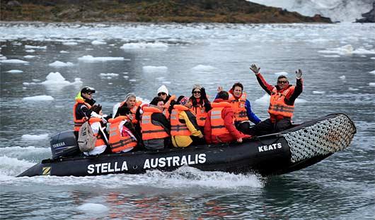 Zodiac Patagonia Cruising