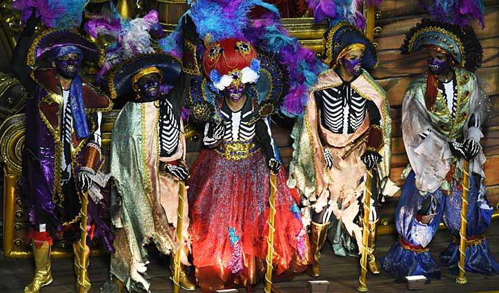 Skeletons Rio Carnival