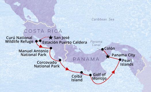 Central-America-Adventure-Map