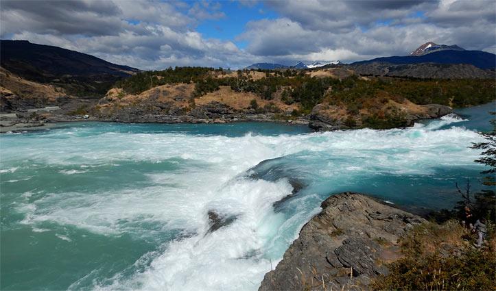 el Confluencia, Patagonia, Chile
