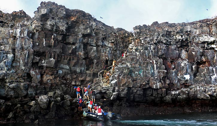 Prince Phillips Steps Genovesa Island