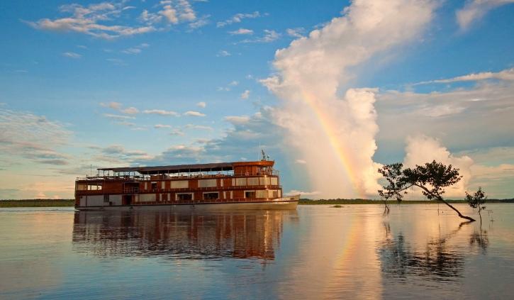 Delfin II rainbow