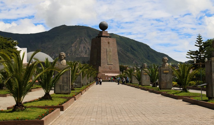 Monument of the Equator Quito