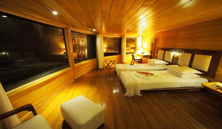 Inside Delfin II