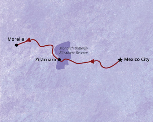 MexicoCity-and-Monarch-Map