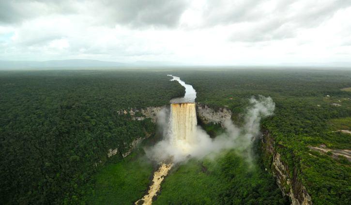 Guyana & Suriname birdseye