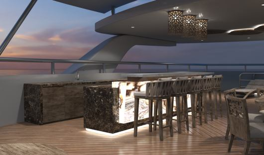 Sky Deck Outside Bar