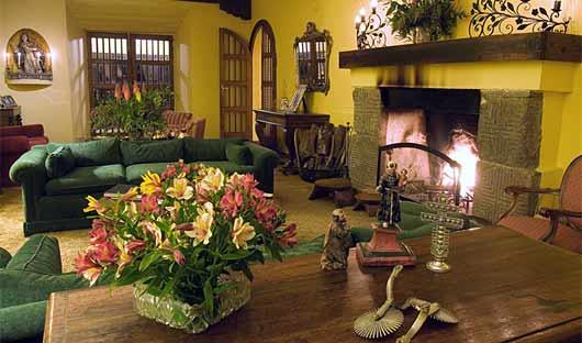Lounge Room Hacienda Zuleta