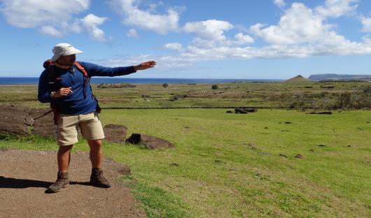 explora Rapa Nui guide christine