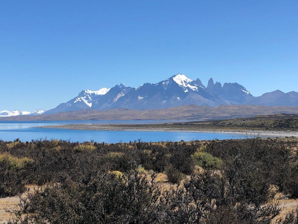 Patagonian Mountains by Hugh McKay