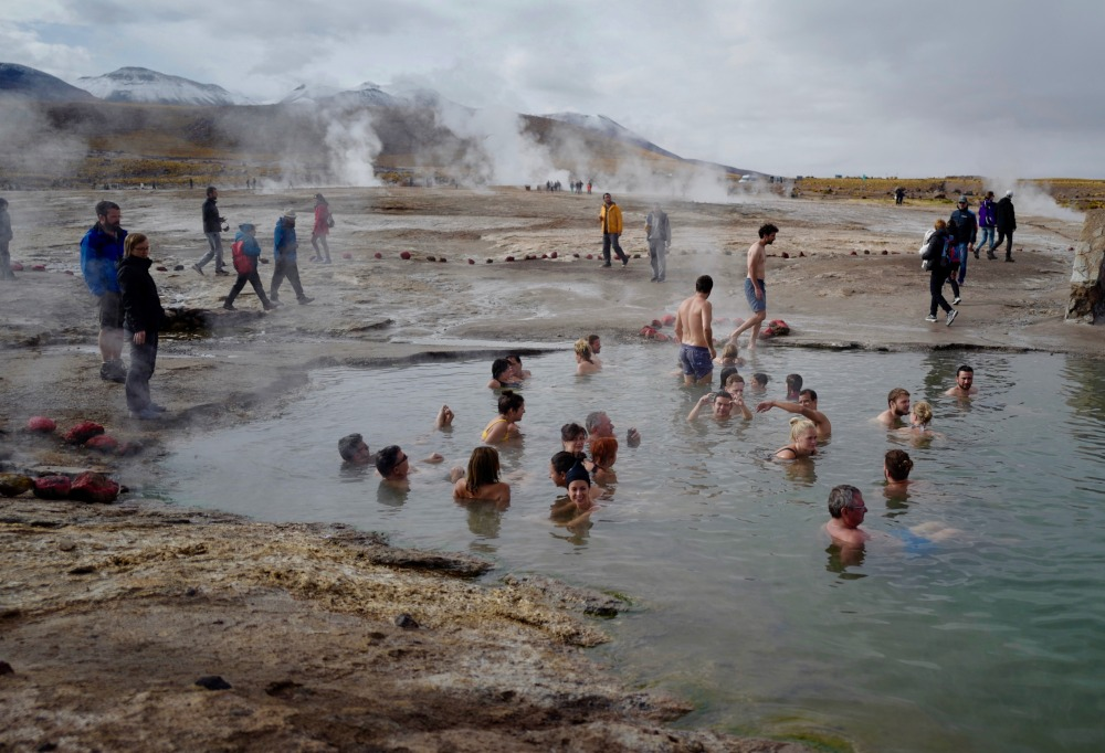 Geysers and Hot Springs in Atacama by Joseph Reich