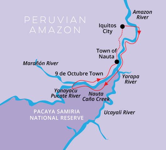 4 Day 3 Night High Water Itinerary Aria Amazon