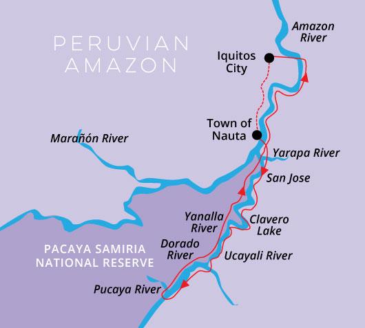 5 Day 4 Night High Water Itinerary Aria Amazon