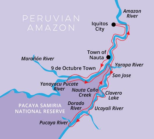8Day/7Night High Water Itinerary Aria Amazon