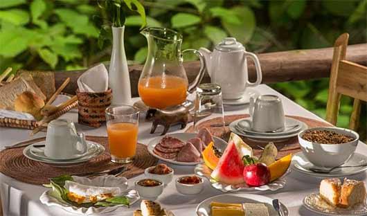 Anavilhanas Lodge Breakfast