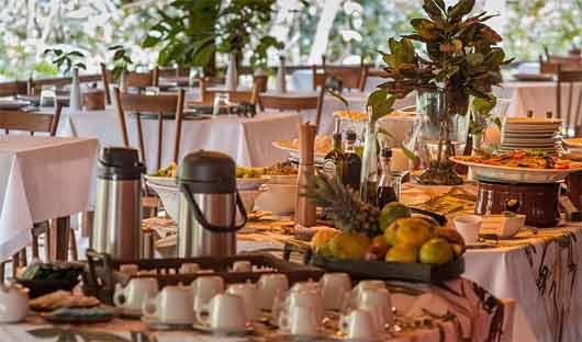 Anavilhanas Lodge Dining