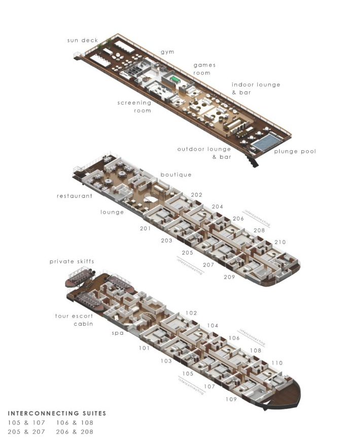 Aqua Nera Deck Plan