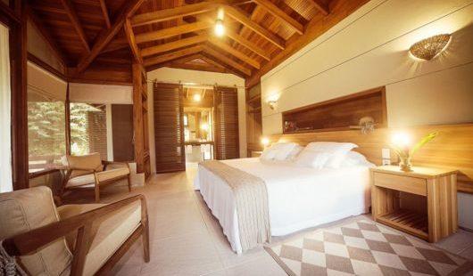 Bedroom Junior Bungalow Cristalino Lodge