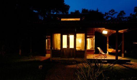Bungalow External Cristalino Lodge