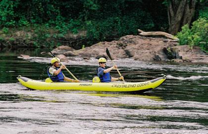 Cristalino Lodge Canoeing
