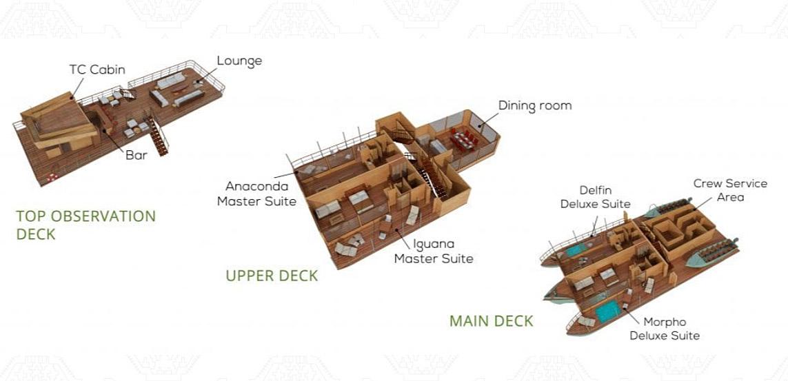 Deck Plan Delfin I