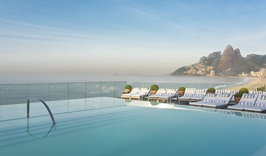 Fasano Hotel Infinity Pool