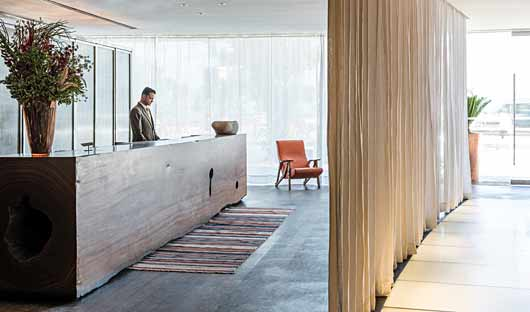 Fasano Hotel Reception