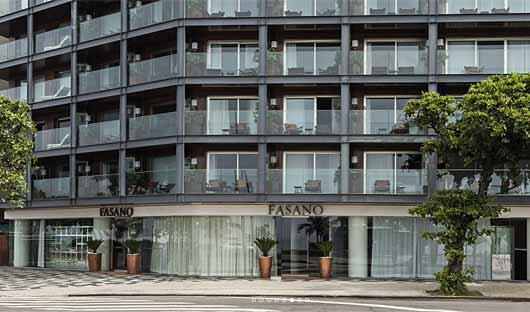 Fasano Hotel facade