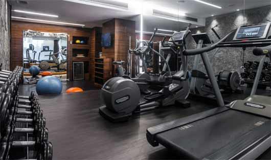 Fasano Hotel gym
