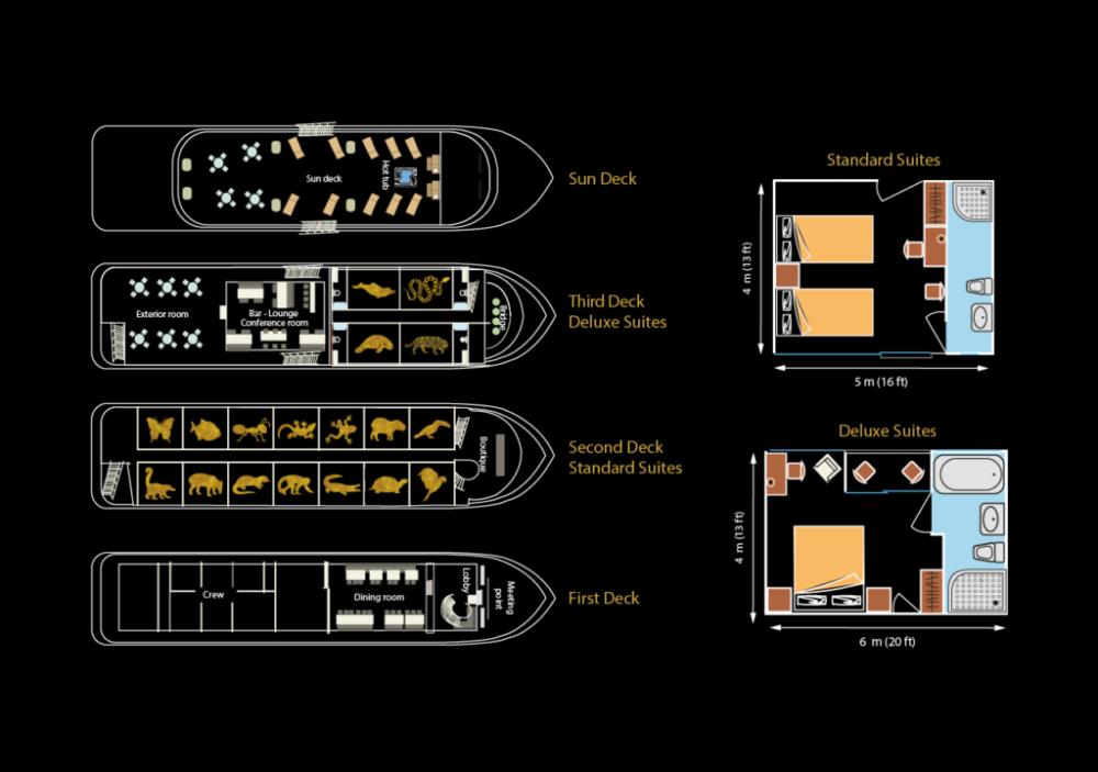 Deck Plan Anakonda