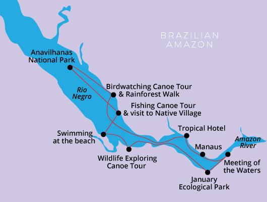 Amazon Negro River cruise MV Clipper Premium