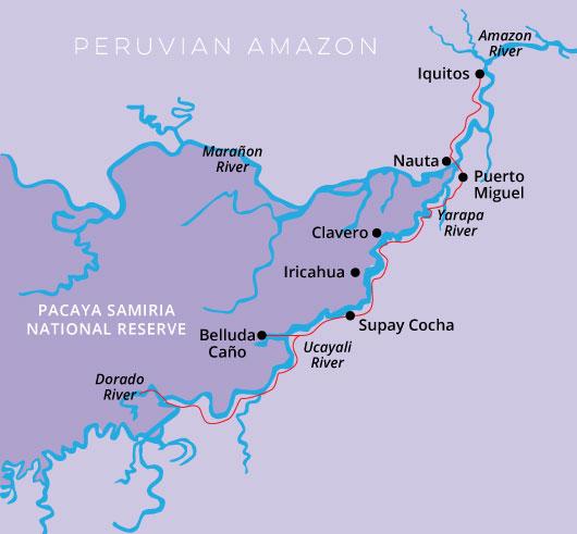 Peru Amazon- Delfin II 4 Day