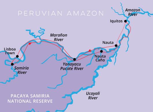 Peru Amazon Aqua Nera 5 Days