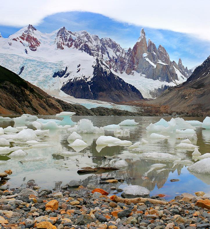 Cerro Torre Icebergs
