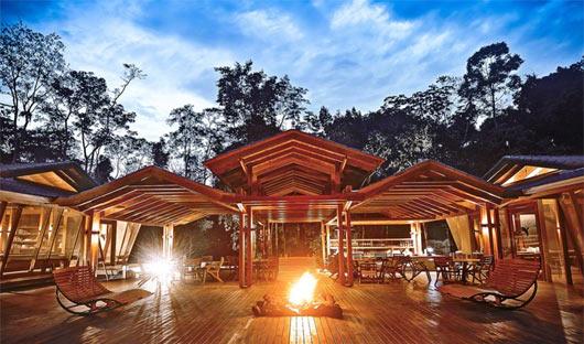 Cristalino Lodge Deck